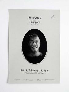 Chair Lecture Series: Jing Quek – Jingapore