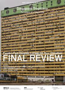 """""""Singapore Tropicana"""": Design Studio – Final Review"""