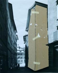 """Manifesta 11: Das 27. Zunfthaus Zürichs (Teil des Entwurfsstudios """"Bei der Arbeit"""")"""