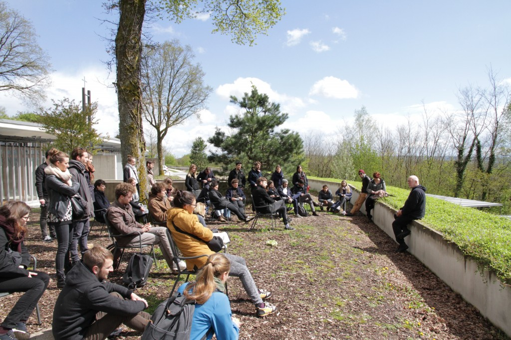 Eth Prof Lehnerer One Day At Ronchamp With K Michael Hays